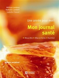 Mon journal santé, de Mélissa Lemieux