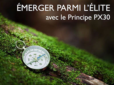 Le Principe PX30 de Michel Piette, conférencier chez Anima conférences et formations