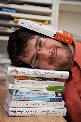 Jean-Benoît Nadeau, conférencier et auteur chez Anima conférences et formations