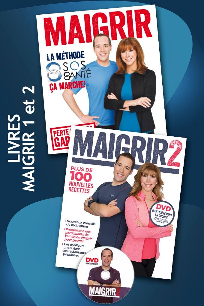 Livres et méthode SOS Santé de Jimmy Sévigny et Chantal Lacroix