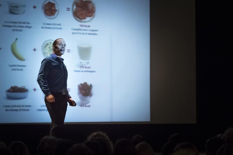 Prenez le contrôle de votre corps par l'alimentation, conférence de Jimmy Sévigny