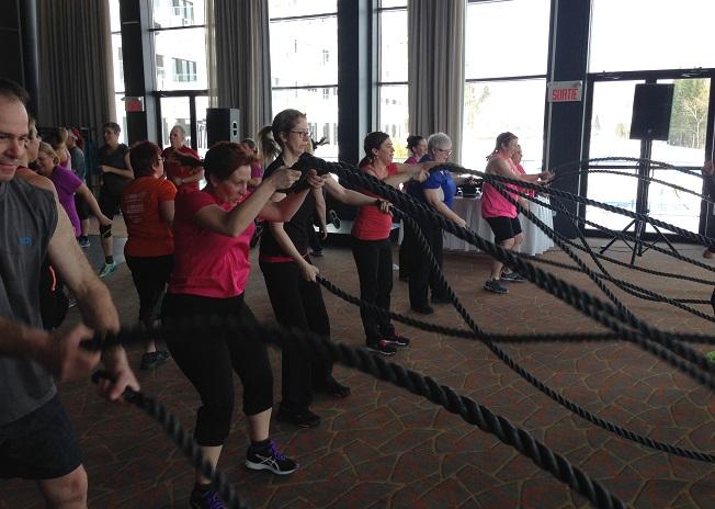 Workout corporatif (entraînement physique) de Jimmy Sévigny #3