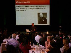 Changez ou subissez le changement, une conférence de Bruno Daigle